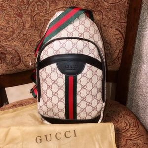 JUST IN! New Gucci Men's Chest Shoulder Bag